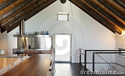 Interior mountain home