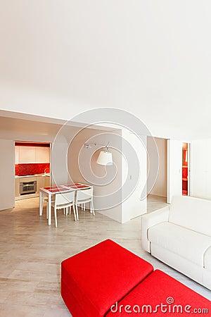 Interior new apartment