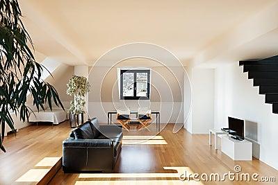 Interior, new loft