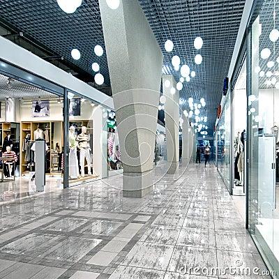 Free Interior Of A Shopping Mall Stock Photos - 7603283