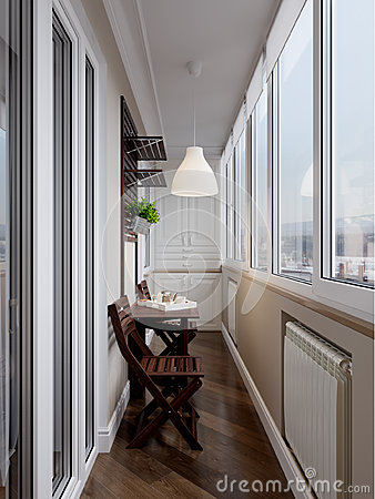 Free Interior Of Balcony Royalty Free Stock Images - 85579989