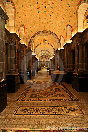 Free Interior Of Cathedral Stock Photography - 13600412