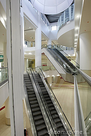 Free Interior Of Shopping Mall Stock Photography - 9072882