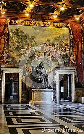 Free Interior Of The Capitoline Museum, Rome Stock Photos - 17518203