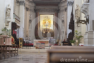 Interior of Palermo Cathedral