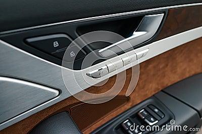 Interior panel of car door