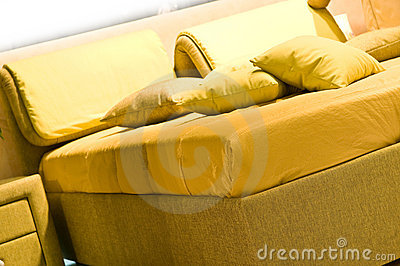 Interior. Pillows