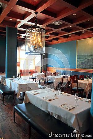 Free Interior Restaurant Decoration Warm Wood Ceiling Stock Photos - 17314493