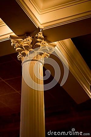 Interior Roman column