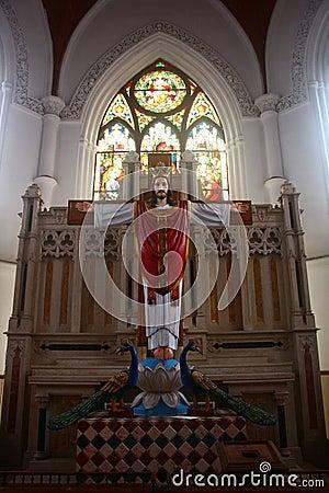 Interior - San Thome Basilica, Chennai