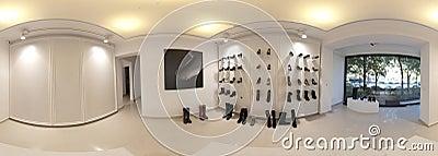 Interior of a shop Editorial Stock Photo