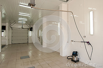 Interior Space Car Wash Stock Photography - Image: 25279592