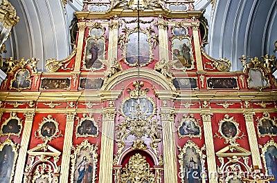 Interior of St. Andrew s church in Kiev