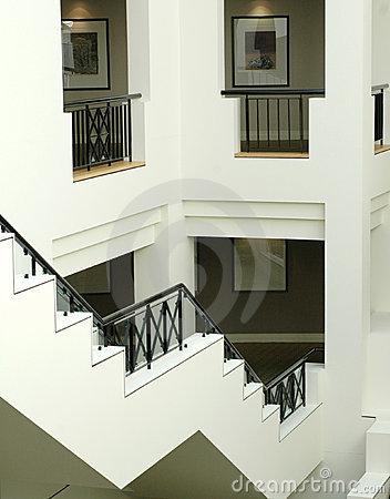 Interior staircase