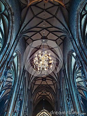 Interior of Stephansdom
