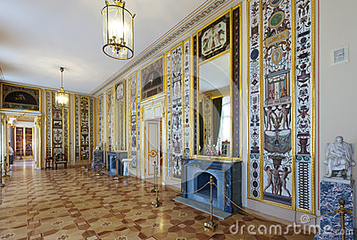 Interior of Stroganov Palace Editorial Stock Image