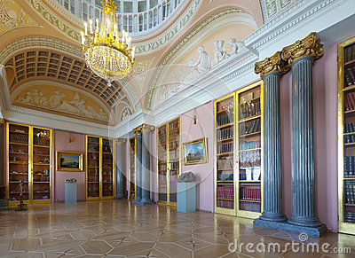 Interior of Stroganov Palace Editorial Photography
