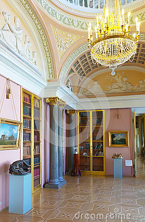 Interior of Stroganov Palace Editorial Image