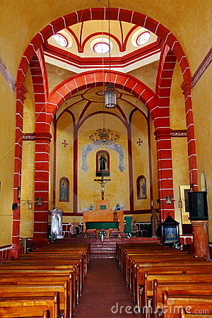 Interior of the tilaco mission