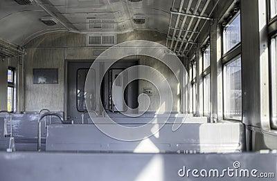Interior of the train
