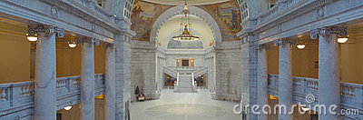 Interior of Utah State Capitol