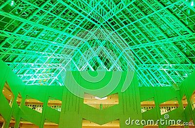 Interior view of Edmonton City Hall