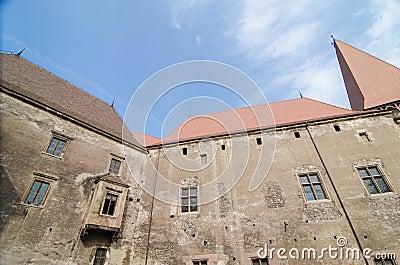 Interior view of  the Huniazi Castle