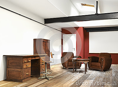 Interior wide loft