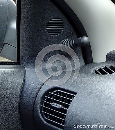 Interiore dell automobile