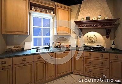 Interiore della cucina con la finestra immagine stock immagine 497861 - La finestra biz ...