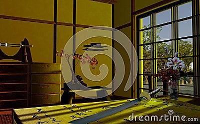 Interiore giapponese