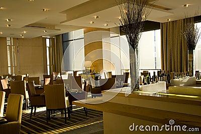 Interiores de lujo del restaurante de la barra imagen de - Interiores de lujo ...