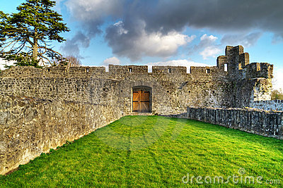 Interiores do castelo de Adare