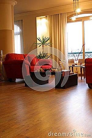 Interiores modernos - série
