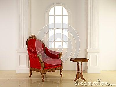 Interiors - Antique seat