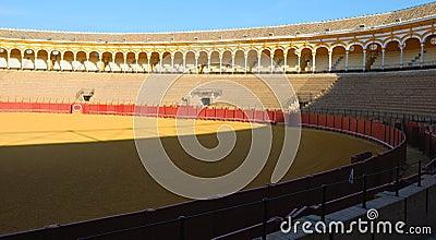 Interiror Seville bullring