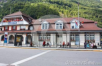 Interlaken Ost Editorial Photo