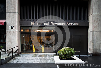 The IRS Building Editorial Stock Image