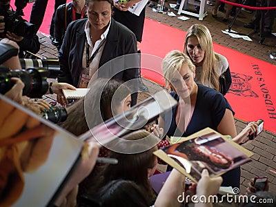 2013 Internationaal de Filmfestival van Toronto Redactionele Fotografie