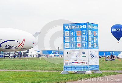 International Aerospace Salon MAKS-2013 Editorial Photo