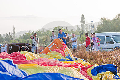 International Balloon Festival Montgolfeerie Editorial Image