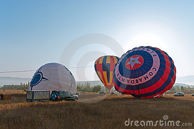 International Balloon Festival Montgolfeerie Editorial Photography