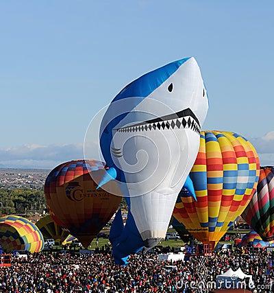 International Balloon Fiesta 2011 Editorial Image