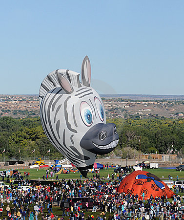 International Balloon Fiesta 2011 Editorial Image