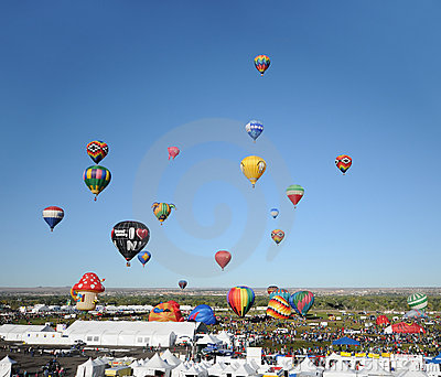 International Balloon Fiesta, Albuquerque, NM 2011 Royalty Free Stock Image - Image: 21658896
