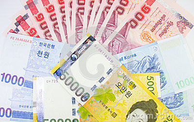 International banknote Thai, Korea, Australia