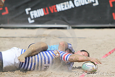 International Beach Rugby Tournament Editorial Image