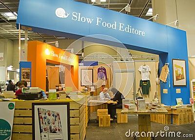 International Book Fair 2012 - Turin Editorial Photo
