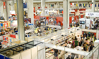 International Book Fair 2012 - Turin Editorial Stock Photo