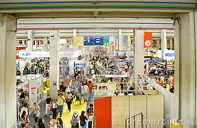 International Book Fair 2012 - Turin Editorial Stock Image
